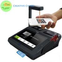 Quality 4 nuclear Android Mobile POS Tablet Cash Register Mobile payment terminal Fingerprint POS for sale