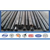 Quality 35FT High Electrical Power Pole , Electric Utility Pole For Transmission for sale