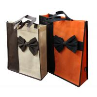 Quality 80gsm non woven fabric Non Woven Carry Bag Splicing matching fashionale colorful promotion bag for sale