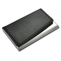 Quality Leather Card Holder, Business Card Holder with laser Logo for sale