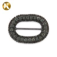 Buy cheap Crystal Metal Pin Shoes Decoration Accessories 45mm*33mm Fashion Style from wholesalers