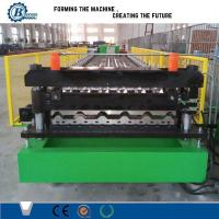 Quality House Roof Panel Roll Forming Machine , Aluminium Roofing Sheet Making Machine for sale