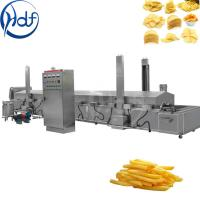 Quality Automatic Commercial Potato Chip Maker , Fryer French Fries Potato Chips Production Line for sale