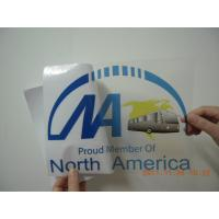 Quality Bus Stickers Wide Application Indoor Outdoor Stickers On The Bus for sale