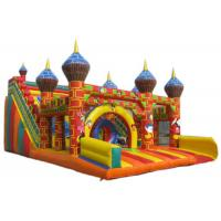 Quality Kids Amusement Park Mickey Mouse Jumping Castle Customized Size For Squares for sale