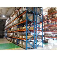 Quality Mild Steel Heavy Duty Warehouse Storage Pallet Rack For Building Materials for sale