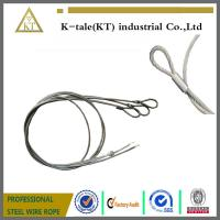 China 7X19 Single Leg 1/4 Steel Wire Rope Sling on sale