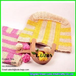 f4aa8a7b8e Quality colorful summer raffia crochet handbags for sale