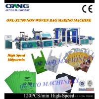 Buy cheap Non Woven Box Bag Making Machine With Handle from Wholesalers