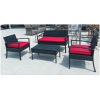 Quality Simple Style Living Room Rattan Sofa Sets / Rattan Living Room Furniture for sale