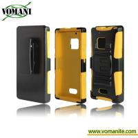 Quality PC+silicone case for Nokia 928, Tri-Band style for sale