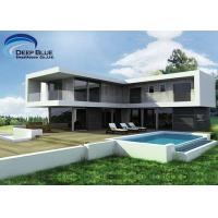 Buy cheap Light Steel Frame House , Two Floors , Three or Four Bedrooms Villa from wholesalers