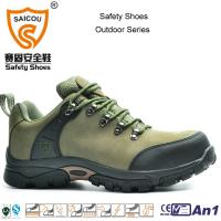 China Low Cut nubuck waterproof climbing tactical hiking shoes outdoor working shoes on sale