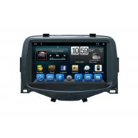 China Multimedia Car Navigation System , Android 8.1 Radio Head Unit For Toyota Aygo on sale