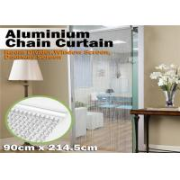 Quality Aluminum Chain Insect Door Fly Screen Curtain for House Decoration for sale