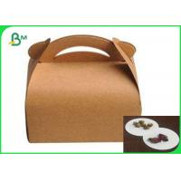 Quality Food Pack Grade Wrapping Boad Paper Waterproof Coated Paper Box for sale