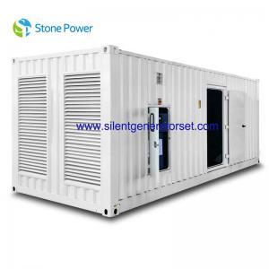Buy cheap CUMMINS Silent Diesel Generator Set 1000kw 1250kva With KAT50-G8 Engine from wholesalers