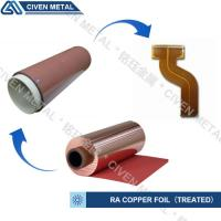 Quality High Flexibility 25UM / 35UM / 50UM RA Copper Foil For Fine Circuit FPC for sale