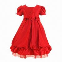 Quality Girls' Dress, New Design, Perfect for Party/Ceremony, OEM Orders are Welcome for sale