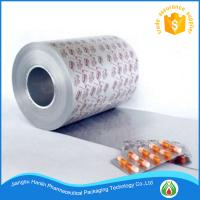 China medical blister packaging PTP aluminum foil printing on sale