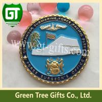Quality Zinc alloy material challenge coin with factory price based on good quality for sale