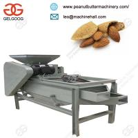 Quality Best sale Automatic Commercial Almond Cracking and Shelling Machine for Sale for sale