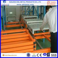 Quality New Style Ebilmetal Metallic Push Back Pallet Rack for Warehouse Storage for sale
