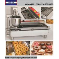 Quality TJ-1 Stainless Steel Made Automatic Mini Donut Machine for sale
