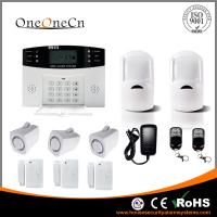 GSM Wireless Security Alarm System LCD display and  Auto dialer