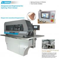 Buy cheap Wood slice jointing machine veneer splicer from Wholesalers