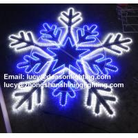 Quality giant snowflake light for sale