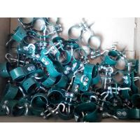 Many clamps of round post are placed in the carton box.
