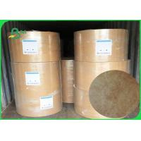 Quality 68g / 73g /75g Tyvek Fabic Paper Brown Color For Make Clothing And Bedding Labels for sale