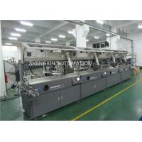 China Round Surface Screen Print Machine 4000Pcs / Hr With Visual Detection on sale