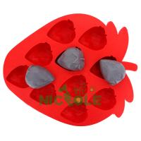 China red silicone and plastic ice tray mold ice cube tools ice mold tray on sale