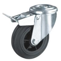 Quality Industrial caster wheels hollow king pin for sale