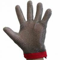 Quality Metal Mesh Chainmail Butcher Glove for sale