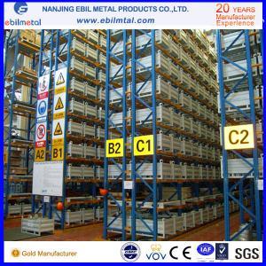 Quality Pallet Racking / Beam Racking, orange / blue / green customized sizes Powder Coated  Heavy Duty Racking for sale
