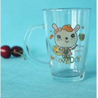 Quality Custom made personalization transparent glass drinkware for sale