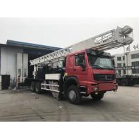 Quality BZC400CHW Truck Mounted Water Well Drilling Rig 400m Drilling Depth SINOTRUK Chassis for sale