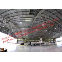 Quality Waterproof Insulated Prefabricated Steel Structure Aircraft Hangar For Private Usage for sale