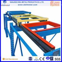 Buy Widely Use in Industry & Warehouse Storage Steel Push Back Racking at wholesale prices