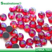 Quality T0811 New Arrival Siam ab ss6 loose colored crystal stone,crystal loose stone,crystal stone loose for wedding dress for sale