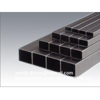 Quality Hot Sale! Frist Grade BS EN10219 Hot Dip Galvanized Steel Square Pipes for sale