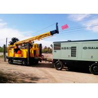 China 400m Water Well Drilling Equipment With Eaton Hydraulic Motor 12T Feed Force on sale