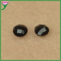 Quality Wholesale price round shape double turtles natural black spinel price for sale