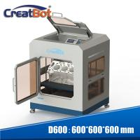 Quality CreatBot D600 Pro Large Scale 3D Printer With Dual Extruders And Color Touch Screen for sale