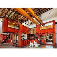Quality Prefab Shipping Containers Shop / Combined Container House For Display And Exhibit for sale