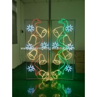 Quality Light pole christmas decorations for sale