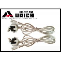 Quality 250v 13A BS1363 UK Power Cord 3 Pin For Home Appliance Custom Length for sale